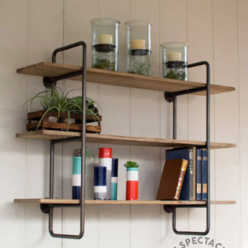 best industrial shelving units products on wanelo. Black Bedroom Furniture Sets. Home Design Ideas