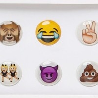 iDecoz Home Button Sticker More Emoji for iPhone iPad iPod