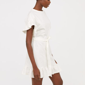 Flounced Jersey Dress - from H&M