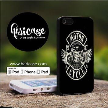 Motor Cycle 1987 iPhone 5 | 5S | SE Cases haricase.com