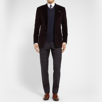 Alfred Dunhill - Mayfair Slim-Fit Plaid Wool Trousers | MR PORTER