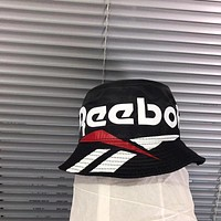 """Reebok"" Classic Unisex Sport Casual Multicolor Letter Bucket Hat Fisherman Cap Fashion Couple Sun Hat"
