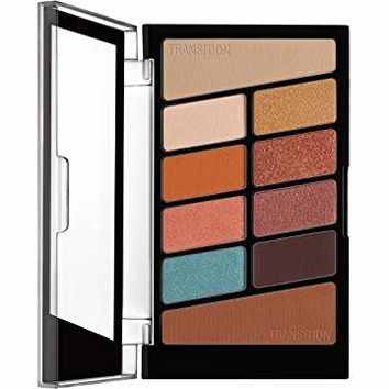 wet n wild Color Icon Eyeshadow 10 Pan Palette, Not a Basic Peach, 0.3 Ounce