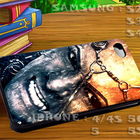 300 Rise Of An Empire The King For iphone 4 iphone 5 samsung galaxy s4 / s3 / s2 Case Or Cover Phone.