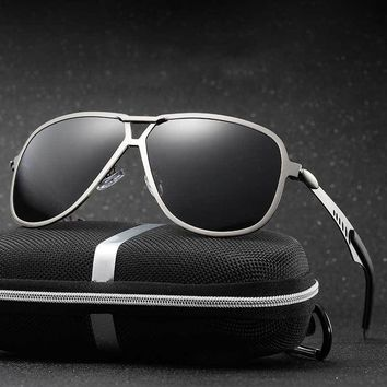 Fashion Men's UV400 HD Polarized Aviation Sunglasses Men Driving Shield Eyewear Sun Glasses Oculos De Sol Eyewear Accessories