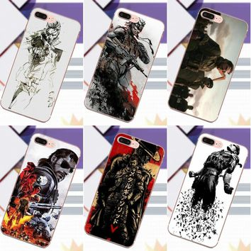 Metal Gear Solid New Personalized Phone Accessories Case For Apple iPhone 4 4S 5 5C 5S SE 6 6S 7 8 Plus X For Moto G G2 G3