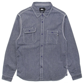 Stussy - Work Shirt (Blue)