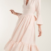 Sea Island tie-waist linen dress | Loup Charmant | MATCHESFASHION.COM US