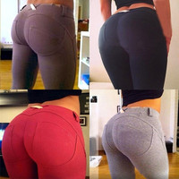 Slim Sexy Women Skinny Jeggings Stretchy Pants Leggings Pencil Tight Trousers = 5618782465