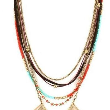 Lost in Translation Layer Necklace