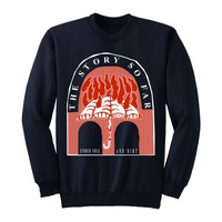 Under Soil And Dirt Navy Blue Crewneck : PNE0 : MerchNOW - Your Favorite Band Merch, Music and More