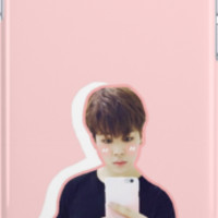 BTS Jimin Pastel Phone Case by gixnneshop