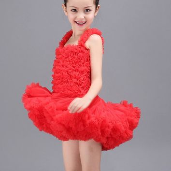 Classical Ballet Tutu Dancewear 2-9 Years Girls Ballet Clothes Costumes Toddler Leotard Professional Tutus Ballerina Dress Kids
