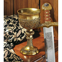 King Arthurs Gothic Golden Chalice