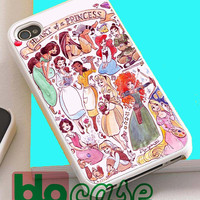 Heart Of A Princess Disney For Iphone 4/4s, iPhone 5/5s, iPhone 5C, iphone 6, and iPhone 6 Plus Case