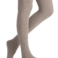 Snuggle the Fun Tights in Cocoa | Mod Retro Vintage Tights | ModCloth.com