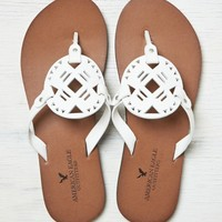 AEO LEATHER MEDALLION FLIP FLOP