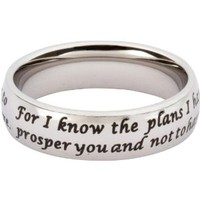 Scripture Ring Jeremiah 29:11