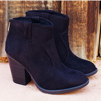 Rebel Booties - Black