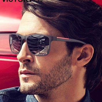Fashion Sunglasses Men Driving Sun Glasses For Men Brand Design High Quality Mirror Eyewear Male