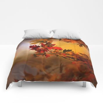Times They Are Changing Comforters by Theresa Campbell D'August Art