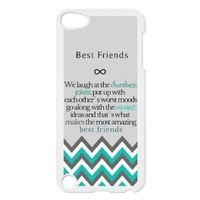 Design For You The Meaning For Best Friends IPOD TOUCH 5 Durable Cover Case