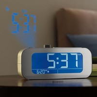 TimeSmart® Self-Setting Projection Clock