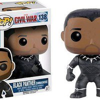 Funko Pop Marvel: Black Panther Unmasked  Exclusive Vinyl Figure