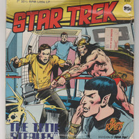 1975 Star Trek: The Time Stealer Little LP #2305 (partialy sealed).  Power Records