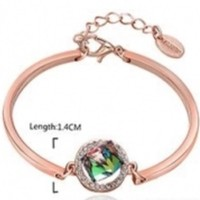 Nickle Free Antiallergic 2015 New Fashion Jewelry 18K Gold Plated Bracelet