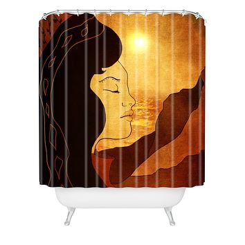 Viviana Gonzalez Song of December Shower Curtain