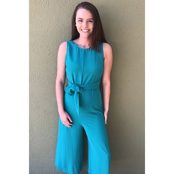 High Hopes Jumpsuit- Green