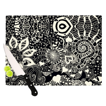 "Monika Strigel ""Neptunes Garden"" Cutting Board"