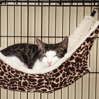 Pet Cage Hammock for 9 lbs or Less