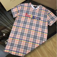 Burberry Print Women Short Sleeve Dress