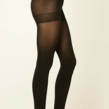 Opaque Tights - 2 Pack