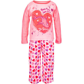 Dr. Seuss - One Fish Two Fish Pink Toddler Sleep Set