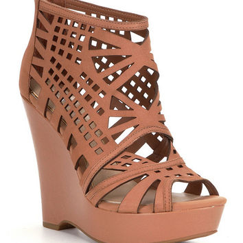 Gianni Bini Pallina Cutout Wedges | Dillards
