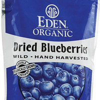 Eden Foods Organic Dried Wild Blueberries -- 4 oz - Vitacost