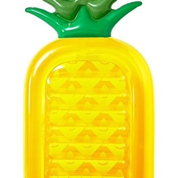 Inflatable Pineapple Pool Float Raft [VICKEA®] Large Outdoor Swimming Pool Inflatable Float Toy Floatie Lounge Toy for Adults & Kids