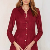 Rambler Button Up Dress