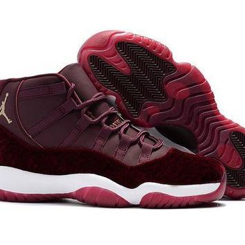 Air Jordan Retro 11 Velvet Heiress new 2017 11s men basketball shoes sneakers