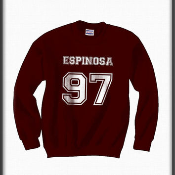 Espinosa 97 White ink Unisex Crewneck Sweatshirt S to 3XL