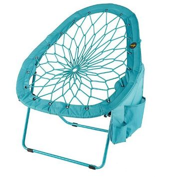 Super-Bungee Chair -- New pear shape only from Brookstone!