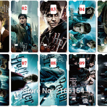 Harry Potter Painting plastic Hard Cover For Samsung Galaxy S2 S3 S4 S5 Mini S6 S7 Edge Plus Note 2 3 4 5 Mobile Cell phone Case