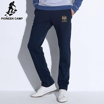 new fashion mens casual pants Top quality clothing sweatpants straight male trousers men