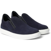 Mr. Hare - Llewelyn Suede Slip-On Sneakers | MR PORTER