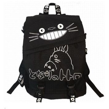 Hayao Miyazaki Totoro Bag Anime Backpack School Bags 2017 Oxford Cartoon Book Bookbag Teenagers My Neighbour Totoro Printed