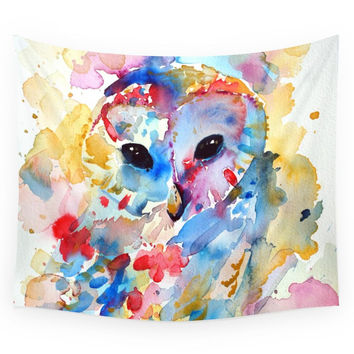 Society6 Owl Wall Tapestry