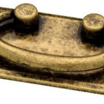 "Liberty 62076AB Horizontal Bail Cabinet Hardware Pull, 3"", Antique Brass"